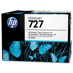Cap imprimare HP 727 (B3P06A), Cyan/Gri/Magenta/Negru mat/Negru foto/Galben