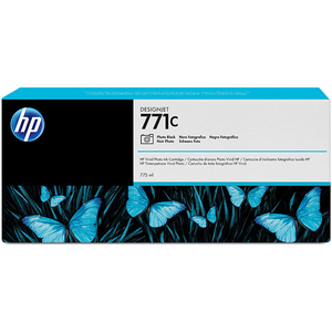Cartus HP 771C (B6Y13A), negru foto