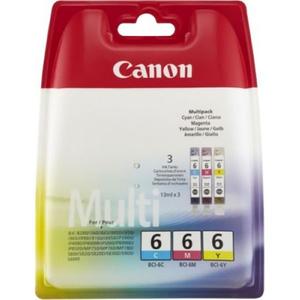 Pachet 3 cartuse CANON BCI-6 C/M/Y, Cyan/Magenta/Galben