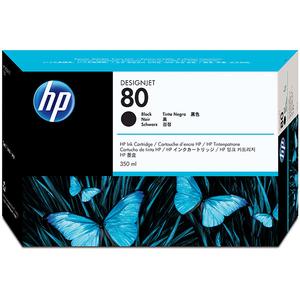 Cartus HP 80 (C4871A), negru