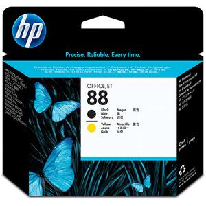 Cap imprimare HP 88 (C9381A), negru, galben