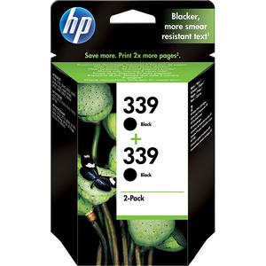 Pachet cu 2 cartuse HP 339 (C9504EE), negru