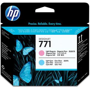 Cap imprimare HP 771 (CE019A), Cyan Light, Magenta Light