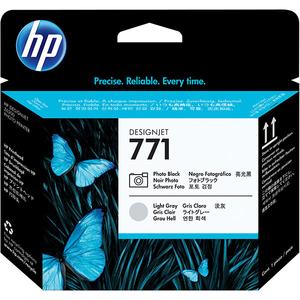 Cap imprimare HP 771 (CE020A), gri deschis, negru foto
