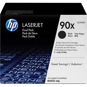 Pachet 2 tonere HP 90X (CE390XD), negru