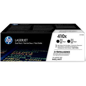 Pachet 2 tonere HP 410X (CF410XD), negru