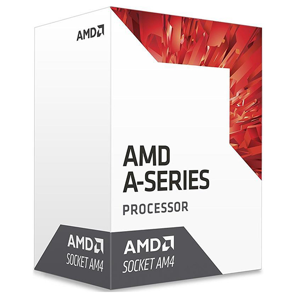 Procesor AMD A10 9700 APU, 3.5GHz/3.8GHz, 2MB, socket AM4, AD9700AGABBOX