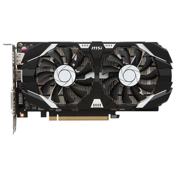 Placa video MSI NVIDIA GeForce GTX 1050 2GT OCV1, 2GB GDDR5, 128bit, GTX 1050 2GT OCV1