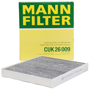 Filtru polen carbon MANN Cuk26009 Audi A3 1.6 Tdi