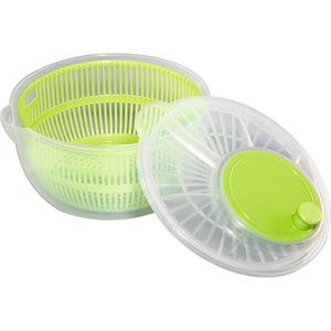 Uscator salata XAVAX Salad Spiner 111353, 3l, plastic, verde