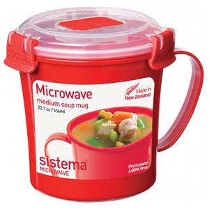 Cana plastic pentru microunde SISTEMA 4031066, 65ml