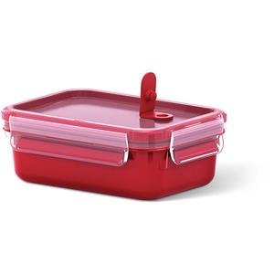 Caserola TEFAL Clip Micro K3102012, 0.55l, plastic, rosu