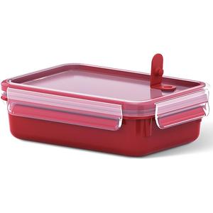 Caserola TEFAL Clip Micro K3102212, 1l, rosu