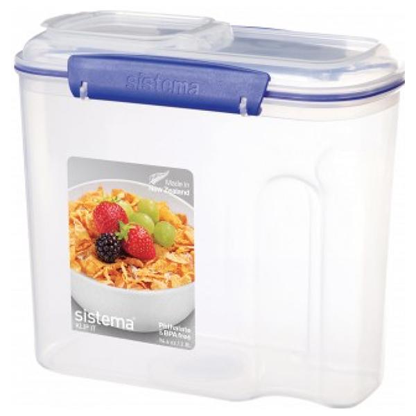 Cutie pentru cereale cu capac SISTEMA 4031071, 2.8l