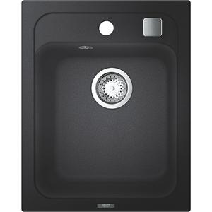 Chiuveta bucatarie GROHE K700 31650AP0, 1 cuva, compozit quartz, negru