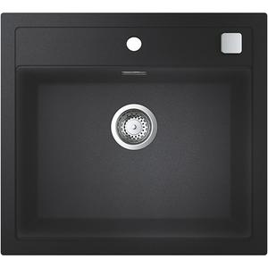 Chiuveta bucatarie GROHE K700 31651AP0, 1 cuva, compozit quartz, negru
