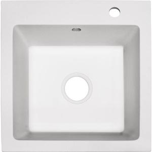 Chiuveta bucatarie ALVEUS Master 10 G11, compozit granit, 1 cuva, alb
