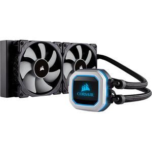 Cooler procesor cu lichid CORSAIR H100i PRO RGB, 2x120mm, CW-9060033-WW