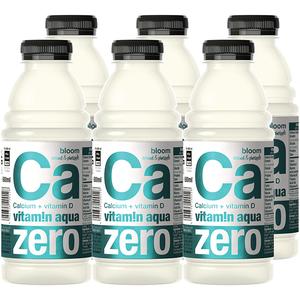 Apa cu vitamine CA ZERO VITAMIN AQUA Coconut&Pineapple bax 0.6L x 6 sticle
