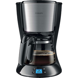 Cafetiera PHILIPS Daily Collection HD7459/20, 1.2l, 1000W, negru - argintiu