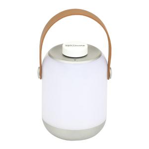 Lanterna LED reincarcabila de camping PROMATE CampLite-2, 1 LED, 1800 mAh, gri