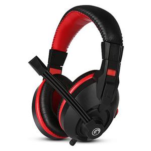Casti Gaming MARVO H8321, stereo, 3.5mm, negru-rosu