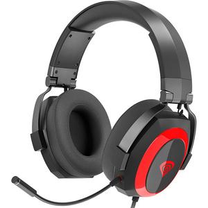 Casti Gaming NATEC Genesis Argon 500, stereo, 3.5mm, negru-rosu