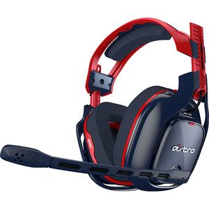 Casti Gaming ASTRO A40 TR 10th Anniversary, stereo, 3.5 mm, rosu-albastru