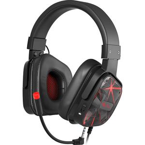 Casti Gaming NATEC Genesis Argon 570, stereo, multiplatforma, 3.5mm, negru