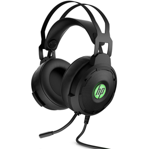 Casti Gaming HP Pavilion 600, 7.1 virtual, 3.5mm, negru-verde