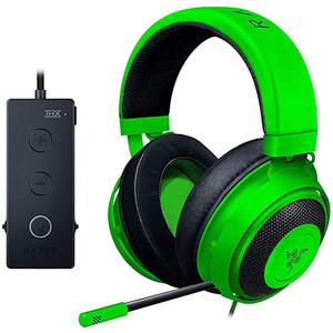 Casti Gaming RAZER Kraken Tournament Edition, stereo, multiplatforma, USB, 3.5mm, verde