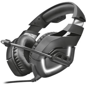 Casti Gaming TRUST GXT 380 Doxx, stereo, USB, 3.5mm, negru