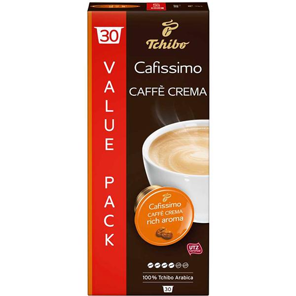 TCHIBO Cafissimo Caffe Crema Rich Aroma 493176, 30 capsule