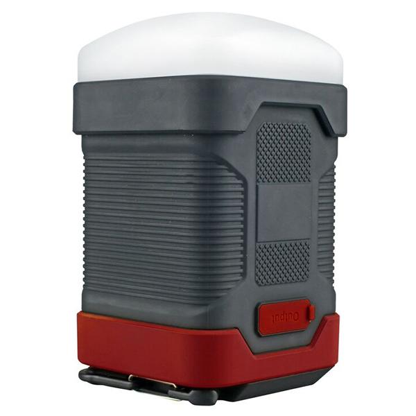 Lanterna LED reincarcabila de camping PROMATE CampLite-1, 1 LED, PowerBank 10000 mAh, negru