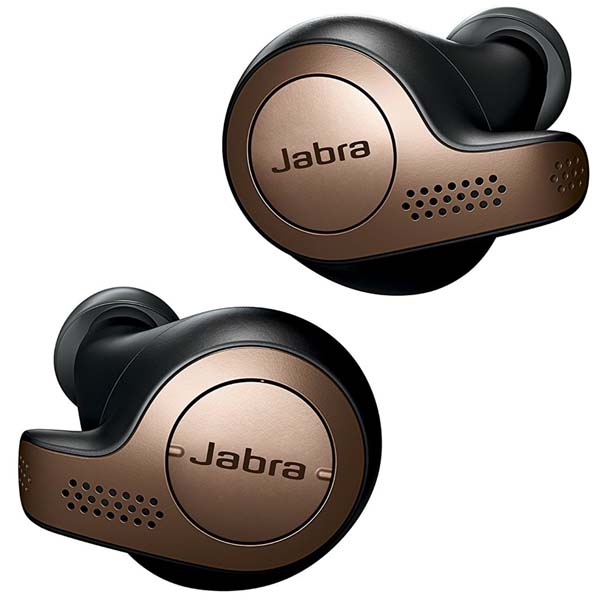 Casti JABRA Elite 65t, True Wireless Bluetooth, In-Ear, Microfon, negru-auriu