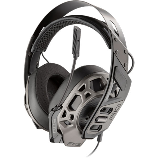 Casti gaming PLANTRONICS Rig 500Pro Hx Special Edition, Noise cancelling, Binaural, Xbox One, 3.5mm, negru
