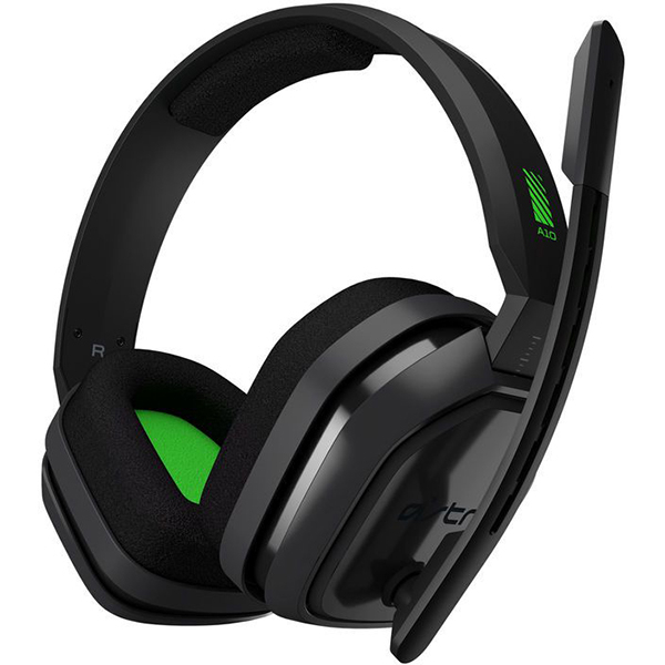 Casti Gaming ASTRO A10, stereo, 3.5mm, gri-verde Xbox One