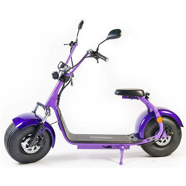 Moped electric FREEWHEEL City Rider, 8 inch, mov, Omologat R.A.R.
