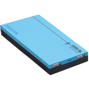 Baterie externa PROMATE Cloy-16, 16000mAh, 2xUSB, albastru