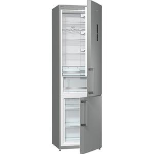 Combina frigorifica GORENJE NRK6202MX, 339 l , 200 cm,  A++, inox