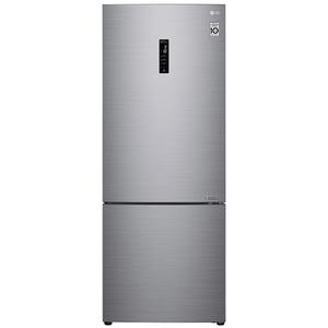 Combina frigorifica LG GBB566PZHZN, 499l, 185 cm, A++, argintiu