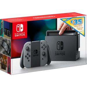 Consola NINTENDO Switch Summer Digital Bundle + voucher 35 euro Nintendo eShop (Joy-Con Grey)