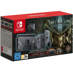 Consola Nintendo Switch Diablo III Limited Edition + joc Diablo III Eternal Collection