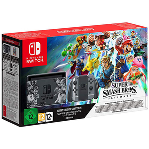 Consola Nintendo Switch Super Smash Bros. Ultimate Bundle + Super Smash Bros. Ultimate Edition (cod download)