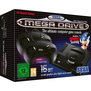Consola SEGA Mega Drive Mini + 40 jocuri preinstalate