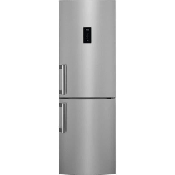 Combina frigorifica AEG RCB63326OX, 283 l, 184.5 cm, A++, inox