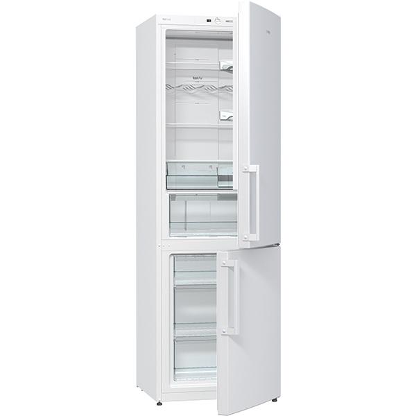 Combina frigorifica GORENJE NRK6191GHW, 307 l, 185 cm,  A+, alb