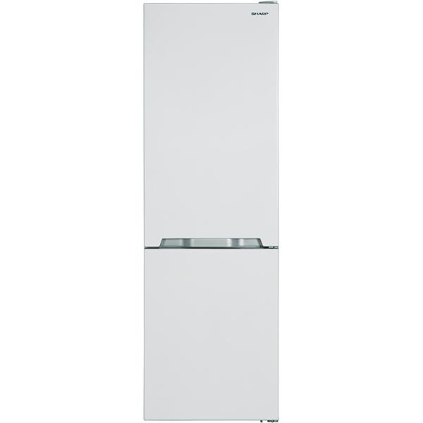 Combina frigorifica SHARP SJ-BB10IMXW-EU, 336l, 186 cm, A+, alb
