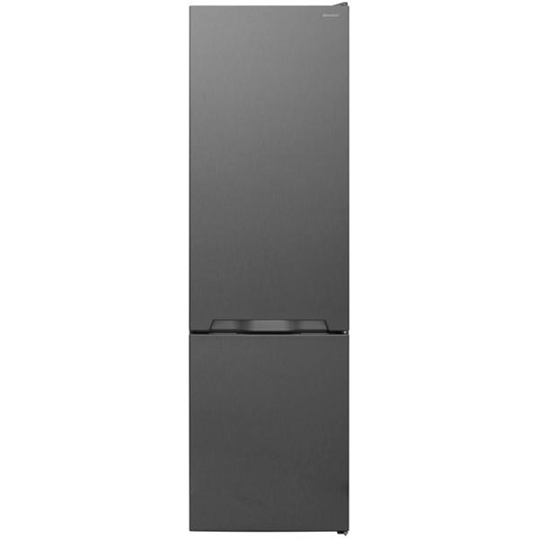 Combina frigorifica SHARP SJ-BB05DTXL1, 286l, 180 cm, A+, argintiu