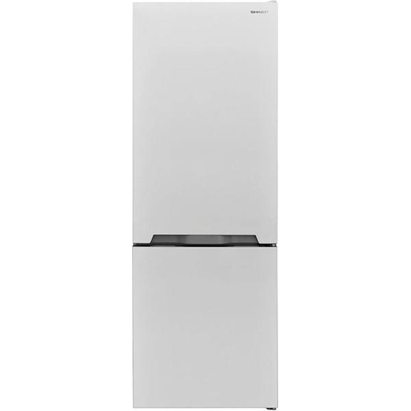 Combina frigorifica SHARP SJ-BB04DTXW1, 268l, 170 cm, A+, alb